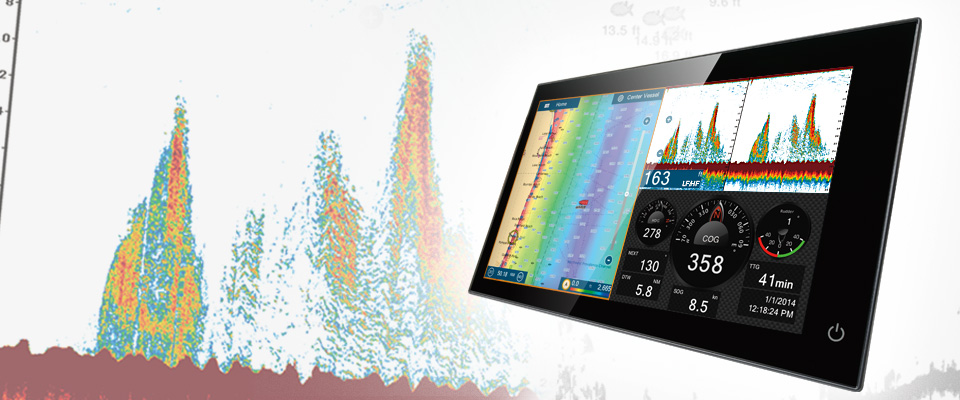 fish finder | features | furuno navnet tztouch2, Fish Finder
